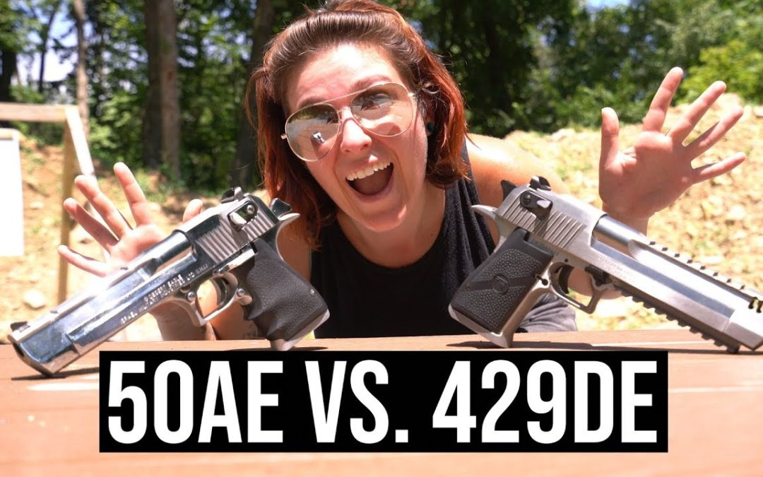 50AE vs 429DE – Desert Eagles at 10,000 FPS Slow Mo!