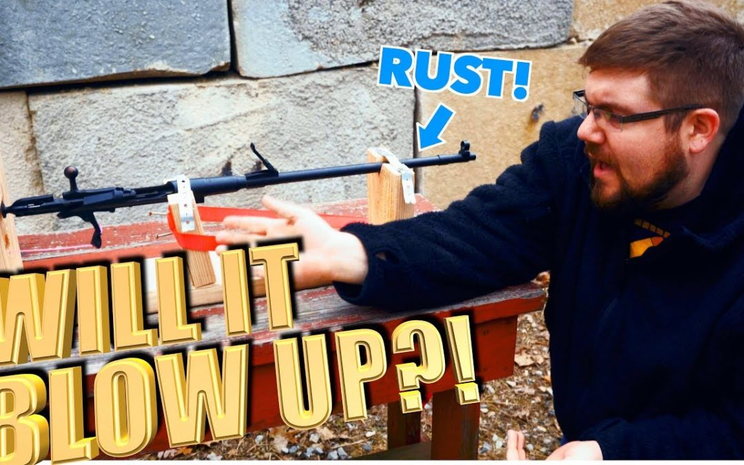 Rusted Out Mosin Nagant – Will It Shoot?! – The Proving Ground