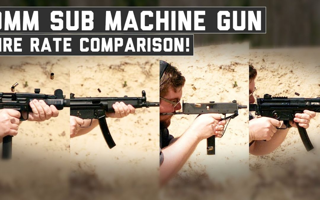 MP5 vs UZI vs PTR9K vs MAC11 – The Proving Ground