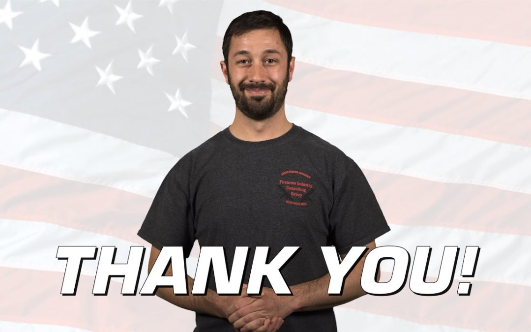 Thank You All for Your Support! – From Adam