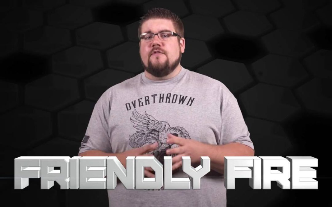 Next big innovation for rifle scopes? – #FriendlyFire!