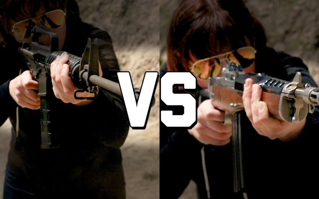 COLT SP1 vs RUGER AC556 (YES THE REAL ONE!) – The Proving Ground