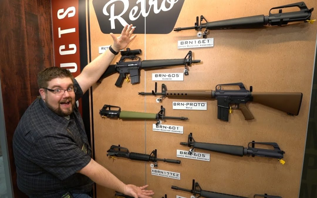 BRN-180 & Retro 4x scope from BROWNELLS! – SHOT SHOW 2019