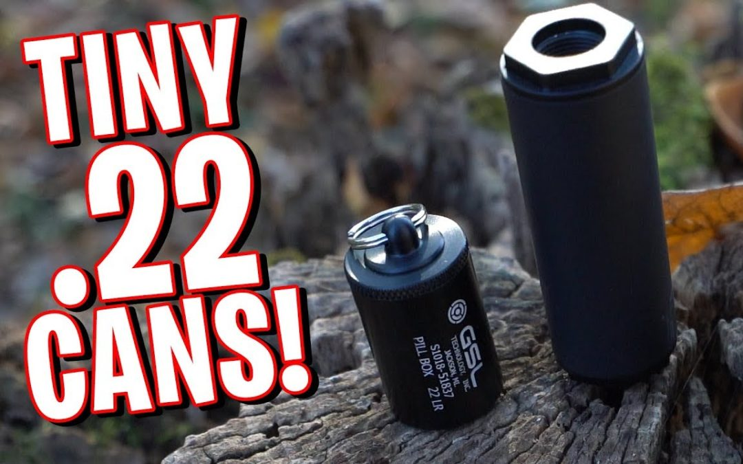 Which TINY 22 Silencer Is Best? Bowers Bitty vs GSL Pill Box