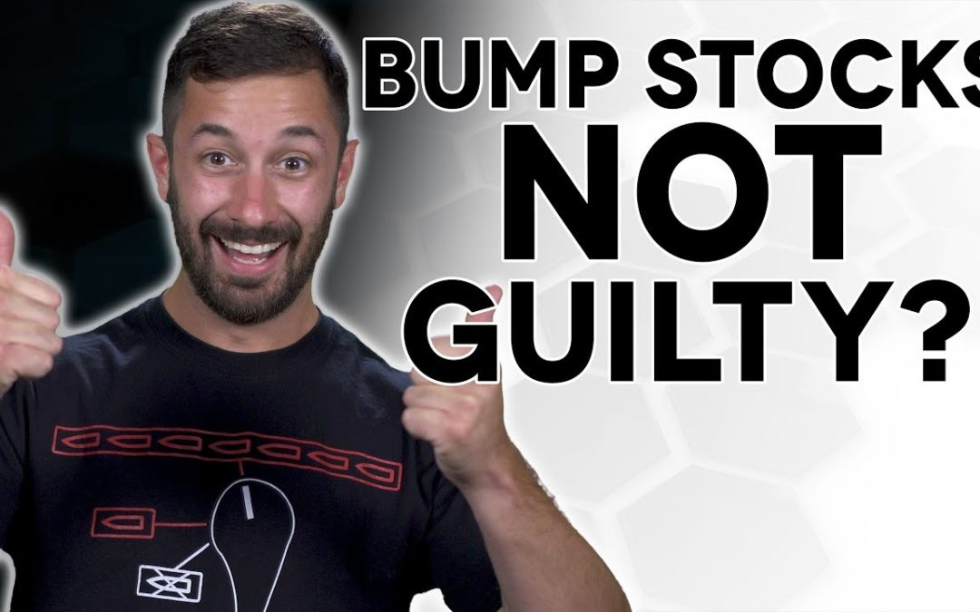 Bump Stock Mfg Protected by Law – The Legal Brief!