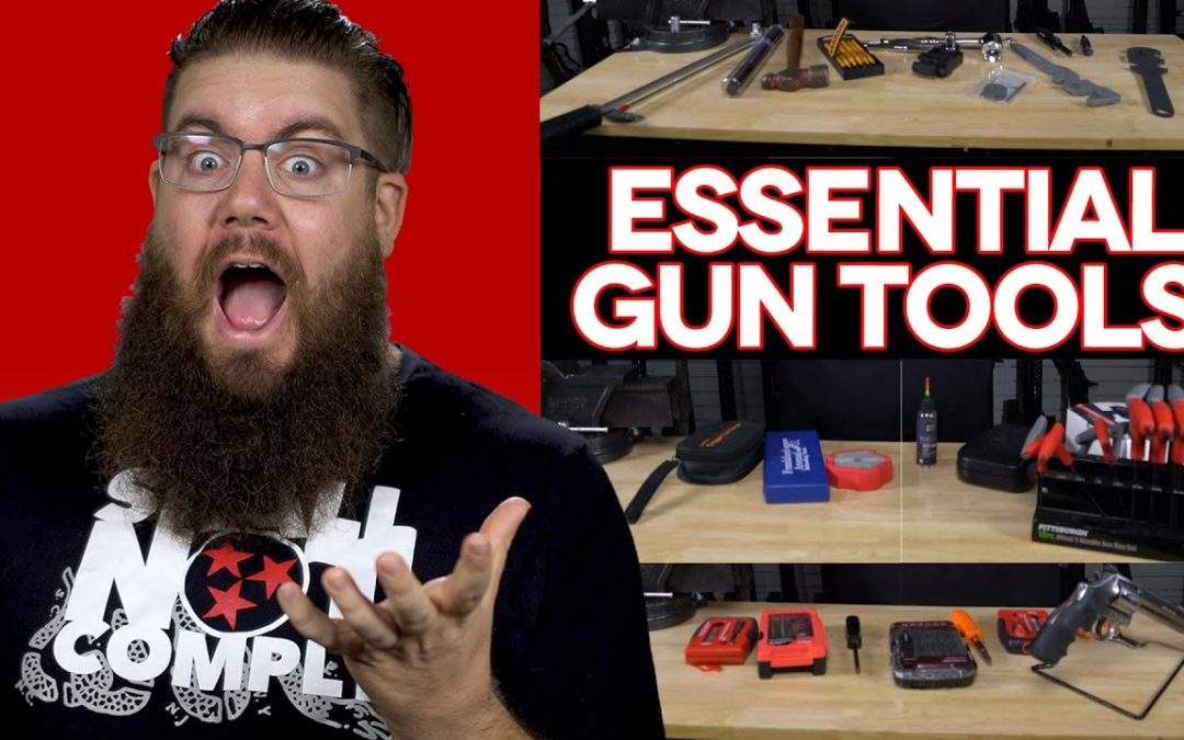 REAL LIFE GUNSMITHING TOOLS – What TGC ACTUALLY Uses!