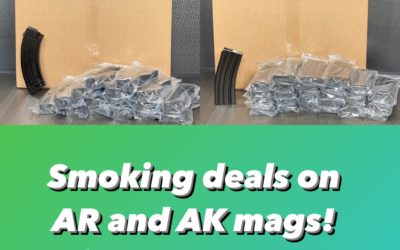NOW WITH COUPON! AK/AR mags for CHEAP – TGC DEALS!